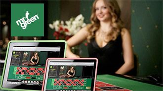Roulette on iPad Mr green casino